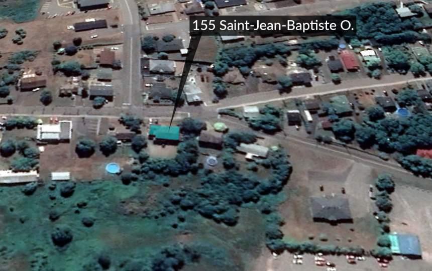 Carte satellite